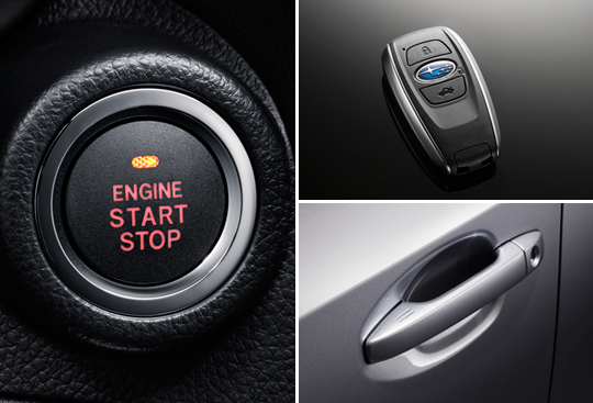 Keyless Access with Push-button Start