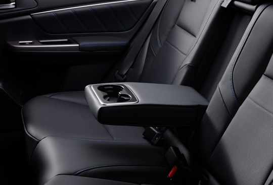 Rear Seat Armrest with Cupholder