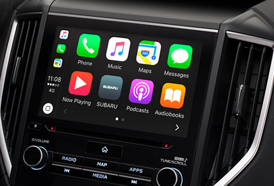 Apple CarPlay<sup>*1</sup> a Android Auto<sup>*2</sup>